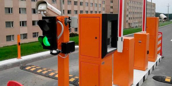 Система парковки с автоматической кассой (паркоматом)